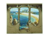 View from a Carriage Window Impressão giclée por Frantisek Kupka