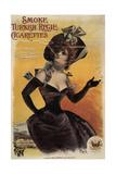 Turkish Regie Cigs France 1898 Giclee Print