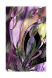 Swaying Glass Giclee Print by Mindy Sommers
