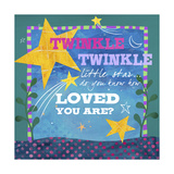 Twinkle Giclee Print by Fiona Stokes-Gilbert