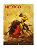 Turismo Mexico II Lámina giclée