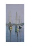 Stonington Sail Boats Reproduction procédé giclée par Bruce Dumas