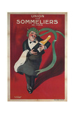 Sommeliers Champagne Giclee Print
