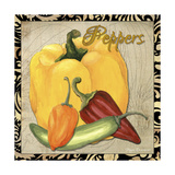 Vegetables 1 Peppers Impressão giclée por Megan Aroon Duncanson