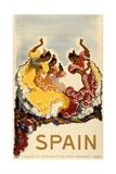 Spain - Women Dancing ジクレープリント