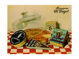 Vintage Cheese - Fromage Giclée-Druck