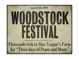 ディレクターズカット/ウッドストック/愛と平和と音楽の祭典 ジクレープリント