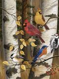 Autumn Friends Lámina giclée por William Vanderdasson