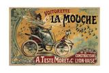 Voiturette La Mouche France 1900 ジクレープリント