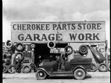 Auto Parts Shop, Atlanta, Georgia Photographic Print