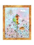 Bird House 3 Impressão giclée por Megan Aroon Duncanson