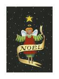Angel Noel Stampa giclée di Margaret Wilson