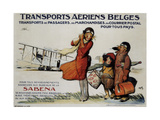 Belgian Transport Giclee Print