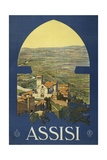Assisi Giclee-trykk