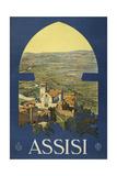 Assisi ジクレープリント