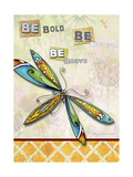Be Bold Be Brave Be Beautiful Giclée-Druck von Megan Aroon Duncanson