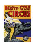 Beatty Circus Giclee Print