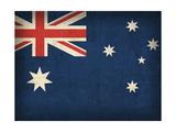 Australien Gicléetryck av David Bowman