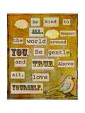 Be Kind to All Giclée-Druck von Tammy Kushnir