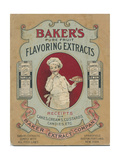 Bakers Extracts Giclee Print
