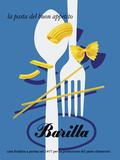 Barilla Pasta Reproduction procédé giclée