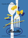 Barilla Pasta Giclee Print
