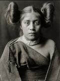 A Tewa Girl Lámina fotográfica