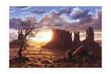 A World of Heaven Giclee Print by R.W. Hedge