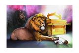 Ark of Covenant Reproduction procédé giclée par Spencer Williams