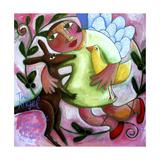 Angel of Peace Lámina giclée por Sara Catena