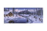 Winter Silence Lámina giclée por Jeff Tift