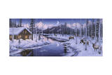 Winter Silence Impressão giclée por Jeff Tift