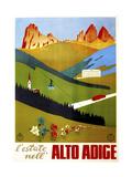 Alto Adige Lámina giclée