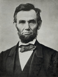 Abraham Lincoln, Head and Shoulders Reproduction photographique Premium