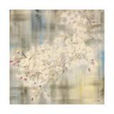 White Cherry Blossom IV Reproduction procédé giclée par li bo