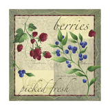 Berry Patch Giclee Print by Fiona Stokes-Gilbert