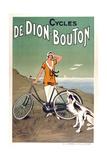 Cycles De Dion Bouton Giclée-Druck