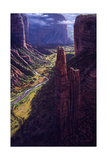 Chasm of Dreams Giclee Print by R.W. Hedge