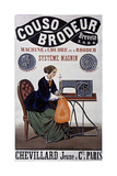 Couso Brodeur Sewing Giclee Print