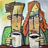 Coffee Date Giclée-Druck von Tim Nyberg
