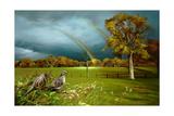 Cades Cove Rainbow Giclée-Druck von Spencer Williams