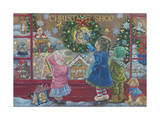 Christmas Blessings Stampa giclée di Tricia Reilly-Matthews