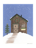 Brown Outhouse Giclee Print by Debbie McMaster