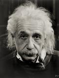 Albert Einstein Fotografie-Druck