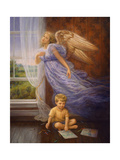 Angel 10 Giclee Print by Edgar Jerins