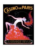 Casino de Paris Giclée-tryk