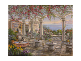 Dining on the Terrace Reproduction procédé giclée par Nicky Boehme