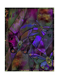 Butterfly Jewels Giclée-tryk af Mindy Sommers