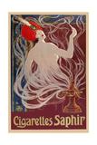 Cigarettes Saphir Giclee Print
