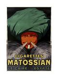 Cigarettes Matossian Pingotettu canvasvedos